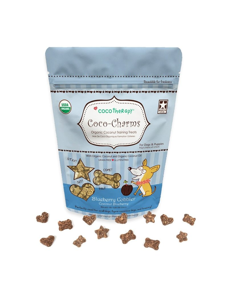 CoCo Therapy Coco Therapy Dog Treats | Coco-Charms Blueberry Cobbler 5 oz
