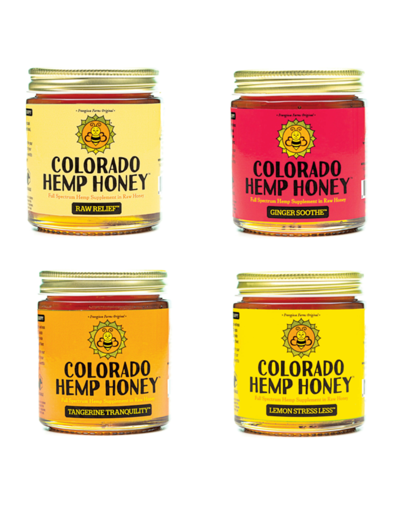 Colorado Hemp Honey Colorado Hemp Honey Lemon Stress Less Jar 12 oz single