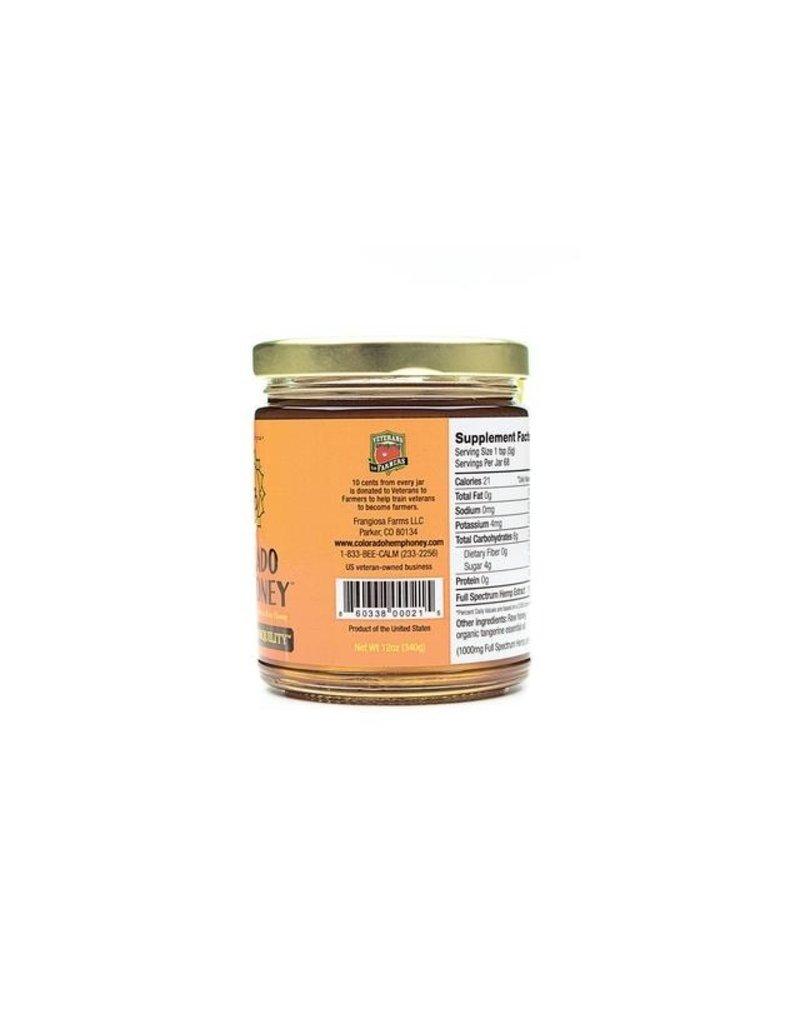 Colorado Hemp Honey Colorado Hemp Honey Tangerine Tranquility Jar 12 oz single