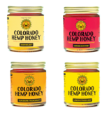 Colorado Hemp Honey Colorado Hemp Honey Raw Relief Double Strength Jar 12 oz single