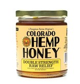 Colorado Hemp Honey Colorado Hemp Honey Raw Relief Double Strength Jar 6 oz single
