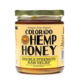 Colorado Hemp Honey Colorado Hemp Honey Raw Relief Double Strength Jar 6 oz