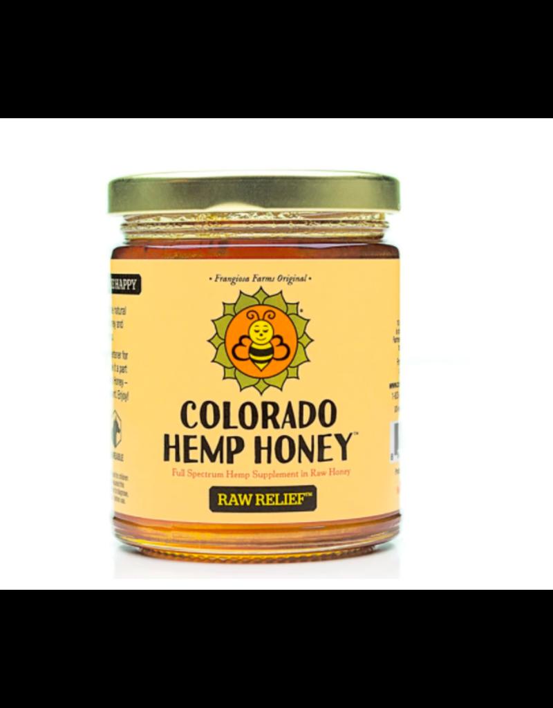 Colorado Hemp Honey Colorado Hemp Honey Raw Relief Jar 12 oz single