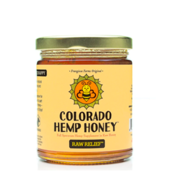 Colorado Hemp Honey Colorado Hemp Honey Raw Relief Jar 6 oz single