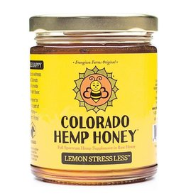 Colorado Hemp Honey Colorado Hemp Honey Lemon Stress Less Jar 6 oz single