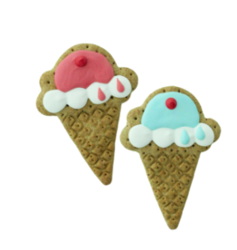 Bosco and Roxy's Bosco & Roxy's Bark-Day Collection | Pointy Ice Cream Cone single