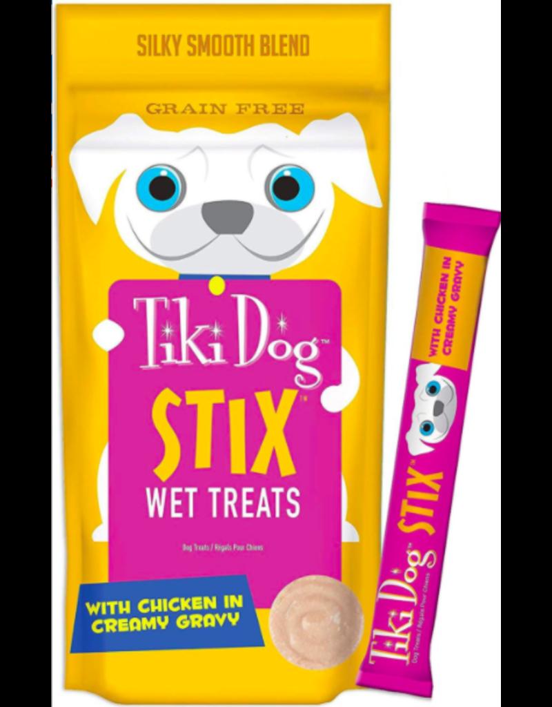 Tiki Tiki Dog Stix Chicken with Gravy 0.36 oz single