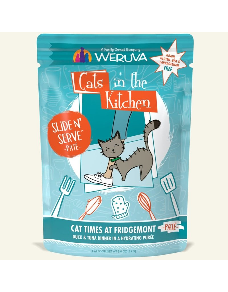 Weruva Weruva CITK Pate Cat Pouches CASE Cat Times at Fridgemont 3 oz