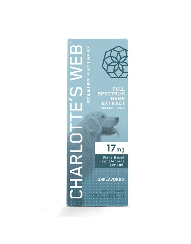 Charlotte's Web Charlotte's Web Hemp Oil | 17 mg Active CBD 100 mL Unflavored for Dogs
