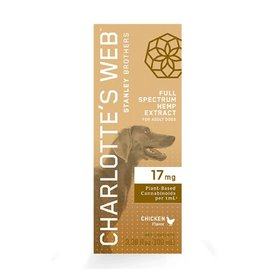 Charlotte's Web Charlotte's Web Hemp Oil | 17 mg Active CBD 30 mL Chicken Flavor for Dogs