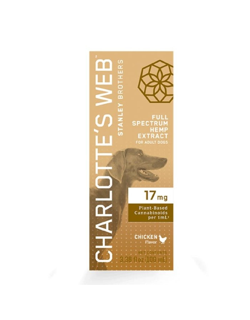 Charlotte's Web Charlotte's Web Hemp Oil | 17 mg Active CBD 100 mL Chicken Flavor for Dogs