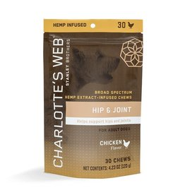 Charlotte's Web Charlotte's Web Hemp Chews | 2.5 mg Active CBD Hip & Joint Chews Chicken 60 ct