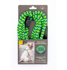 Harness Lead Harness Lead | Peacock Large 40-170 lbs