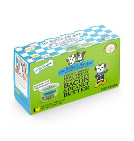 The Bear & The Rat The Bear and The Rat Frozen Ice Cream Dog Treats Bacon and Peanut Butter 4 pk (*Frozen Products for Local Delivery or In-Store Pickup Only. *)