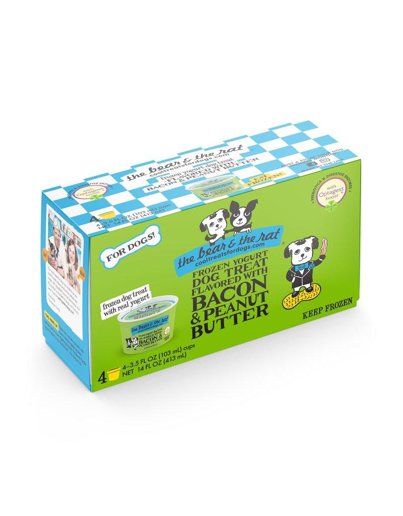 The Bear And The Rat Frozen Ice Cream Dog Treats Bacon And Peanut Butter 4 Pk The Pet Beastro