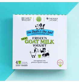 The Bear & The Rat The Bear and The Rat Frozen Goat Milk Yogurt Dog Treats 4 pk (*Frozen Products for Local Delivery or In-Store Pickup Only. *)