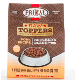 Primal Primal Raw Toppers | Butcher's Blend Pork Grind - Meat, Bone & Organ 2 lb (*Frozen Products for Local Delivery or In-Store Pickup Only. *)