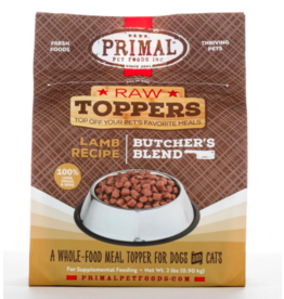 Primal Primal Raw Toppers | Butcher's Blend Lamb Grind - Meat, Bone & Organ 2 lb (*Frozen Products for Local Delivery or In-Store Pickup Only. *)