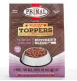 Primal Pet Foods Primal Raw Toppers | Butcher's Blend Turkey Grind - Meat, Bone & Organ 2 lb (*Frozen Products for Local Delivery or In-Store Pickup Only. *)