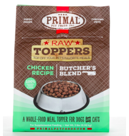 Primal Pet Foods Primal Raw Toppers | Butcher's Blend Chicken Grind - Meat, Bone & Organ 2 lb (*Frozen Products for Local Delivery or In-Store Pickup Only. *)