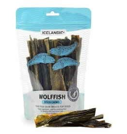 IcelandicPLUS Icelandic+ Dog Treats Wolffish Skin Strip 4 oz