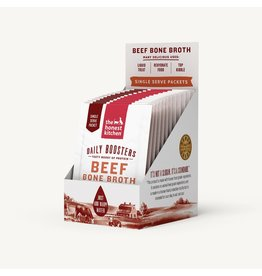 The Honest Kitchen The Honest Kitchen Daily Boosters | Beef Bone Broth 0.12 oz CASE