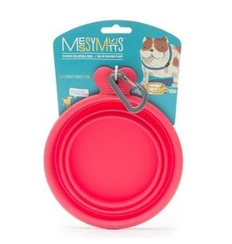Messy Mutts Messy Mutts | Collapsible Silicone Bowl Watermelon Small