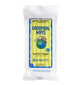 Earthbath Earthbath Green Tea & Awapuhi Grooming Wipes 28 ct
