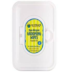 Earthbath Earthbath Hypoallergenic Grooming Wipes Fragrance-Free 100 ct