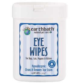Earthbath Earthbath Eye Wipes For Dogs & Cats 25 ct