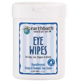 Earthbath Earthbath Eye Wipes For Dogs & Cats 25 ct