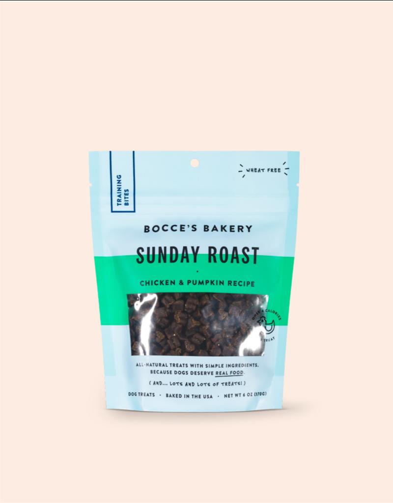 Bocce's Bakery Bocce's Bakery Dog Training Bites   Sunday Roast 6 oz