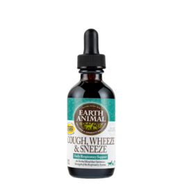 Earth Animal Earth Animal Tinctures Cough Wheeze & Sneeze 2 oz