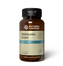 Nature's Sunshine Supplements Melatonin Extra 60 capsules