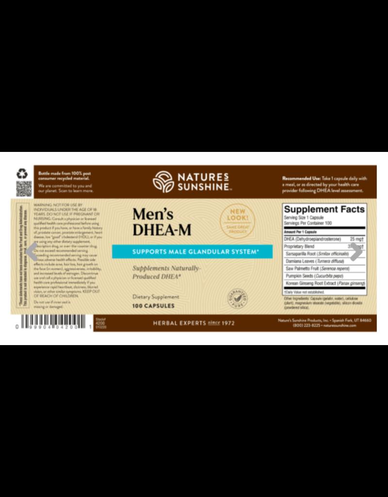 Nature's Sunshine Nature's Sunshine Supplements Men's DHEA-M 100 capsules