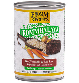 Fromm Fromm Canned Dog Food Frommbalaya Stew | Beef Vegetable & Rice 12.5 oz CASE