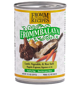 Fromm Fromm Canned Dog Food Frommbalaya Stew | Lamb Vegetable & Rice 12.5 oz CASE