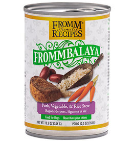 Fromm Fromm Canned Dog Food Frommbalaya Stew | Pork Vegetable & Rice 12.5 oz CASE