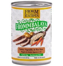 Fromm Fromm Canned Dog Food Frommbalaya Stew | Turkey Vegetable & Rice 12.5 oz CASE