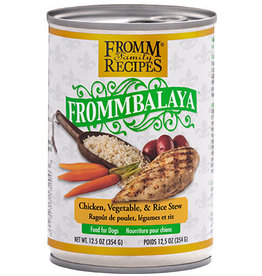 Fromm Fromm Canned Dog Food Frommbalaya Stew | Chicken Vegetable & Rice 12.5 oz CASE