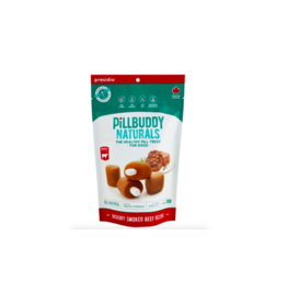 Presidio Natural Pet Co PillBuddy Naturals Hickory Smoked Beef 30 ct