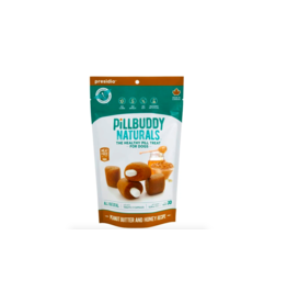 Presidio Natural Pet Co PillBuddy Naturals Peanut Butter and Honey 30 ct