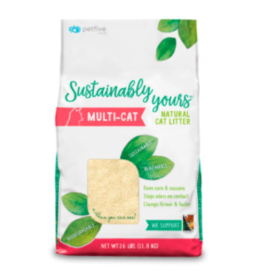 Sustainably Yours Sustainably Yours | Natural Cat Litter Multi-Cat 26 lb (* Litter 12 lbs or More for Local Delivery or In-Store Pickup Only. *)
