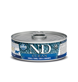 Farmina Pet Foods Farmina GF Cat Cans CASE Ocean Bonito, Cod, Shrimp & Pumpkin 2.8 oz