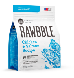 Bixbi Bixbi Freeze Dried Rawbble Salmon & Chicken 12 oz
