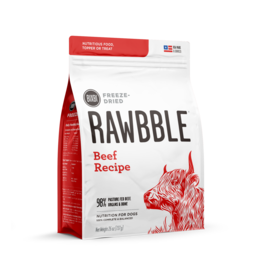Bixbi Bixbi Freeze Dried Rawbble Beef 14 oz