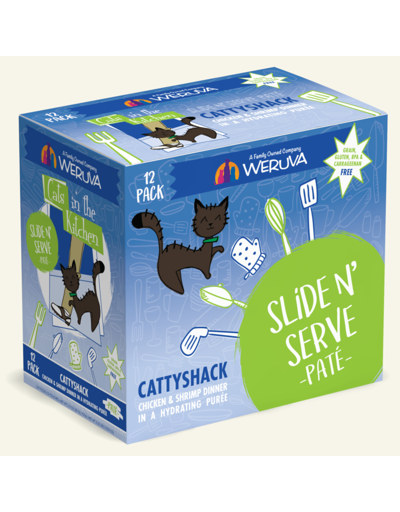 Weruva Weruva CITK Pate Cat Pouches Cattyshack 3 oz single