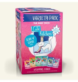 Weruva Weruva CITK Pate Cat Pouches The Brat Pack 3 oz Variety Pack