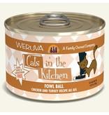 Weruva Weruva CITK Canned Cat Food CASE Fowl Ball 6 oz