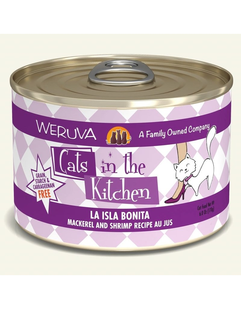 Weruva Weruva CITK Canned Cat Food | CASE La Isla Bonita 6 oz